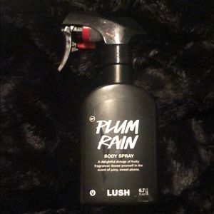 Plum rain lush body spray brand new!